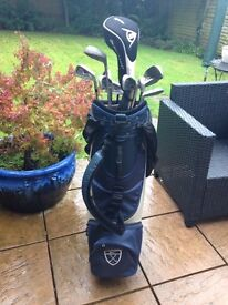 Men's golf clubs and bag - assorted as photo SOLD!!!!!!!!!!!!!!