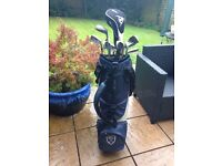 Men's golf clubs and bag - assorted as photo