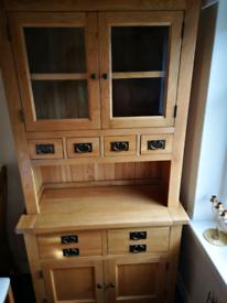 Solid Oak Dresser Cabinet Dining Room Furniture RRP 849