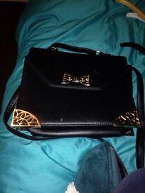Ladies black handbag