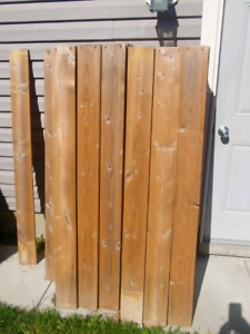 Fence Boards, 1×6×5', MicroPro Sienna, qty=126
