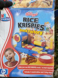 Rice Krispies snack factory