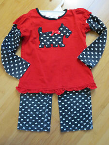 "Girls ""Okie-Dokey"" Outfit - 24 Mths"