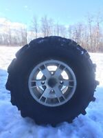 27in Mud lite tires