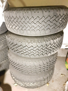 215 70 R15 winter tires, on rims