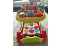 Redkite 3in1 baby walker/ bouncer : Like New!!