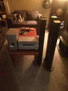 Pioneer Surround Sound Receiver and DVD Player