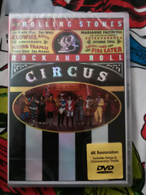 The Rolling Stones Rock and Roll Circus DVD - NEW