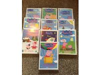 10 Peppa Pig DVDs with Cases - Bundle