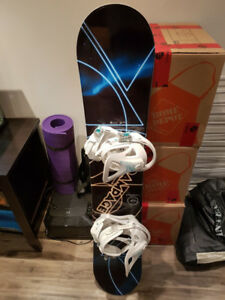 Brand new rampage firefly snowboard and boots