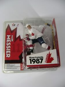 McFarlane's Sports Picks NHL Action Figures with Hockey sticks