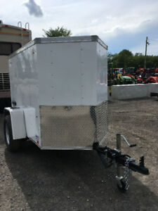 4 foot x 6 foot cargo trailer for sale, brand new, 2017 July.