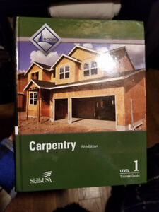 Brand new (never used) Carpentry 5th edition level 1