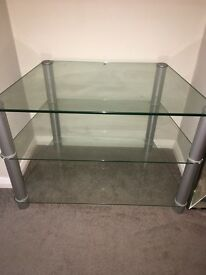Glass Tv stand/ shelving
