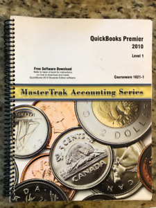 """MasterTrak Accounting Series"" QuickBooks Premier 2010 Full Book"