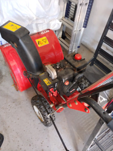 Snow blower MTD Yard Machines