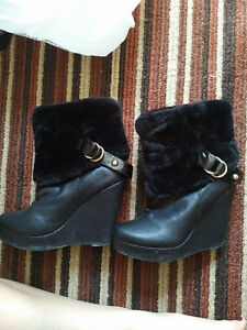Black Winter Boots size 37