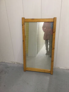 Hard Wood Mirror