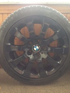 BMW WINTER TIRES & RIMS (18)