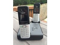 Gigaset C300A twin cordless phones