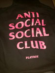 Anti Social Social Club Playboy Hoodie M
