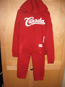 New Girl's size 5/6 HBC Canada two piece outfit.