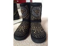 New Ugg by Jimmy Choo Boots sz uk 5.5/ us7