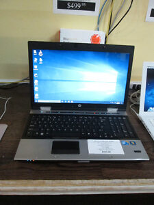 HP ELITEBOOK 8540p Notebook For Sale At Nearly New Port Hope