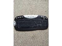 Logitech cordless keyboard