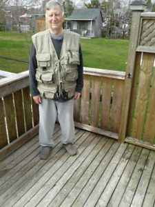 Man,s extra LG fishing jacket