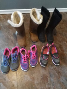 Girls runners & boots for Sale