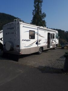 Class A Motor Home for rent.