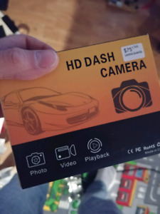 1080p dashcam brand new