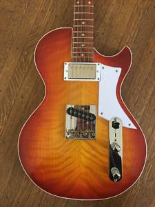 Custom handmade Telecaster / Les Paul hybrid guitar