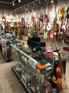 GUITAR STORE FINAL CLOSING - LAST CHANCE - EVERYTHING MUST GO!