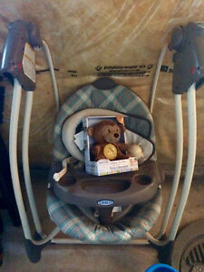 Excellent graco baby swing