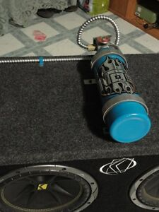 KICKER SUBS , EXILE AMP & CUSTOM FIRE EXTINGUISHER Peterborough Peterborough Area image 5