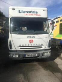 Iveco Eurocargo mobile library