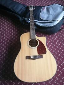 Fender CD-140SCE, Natural, Rosewood Electro Acoustic Guitar