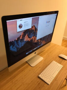 "iMac 27"" Late 2013 3.57Ghz Core i7 * 16GB RAM * 1TB * Thin versi"