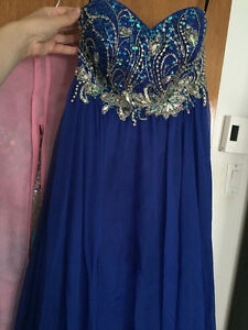 PROM DRESS Navy blue