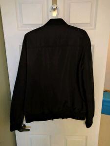 Men's XL Bomber Jacket in black