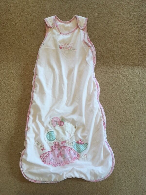 6-18months girl's 2.5tog sleeping bag.