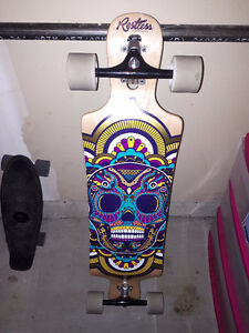 Restless Longboard brand new