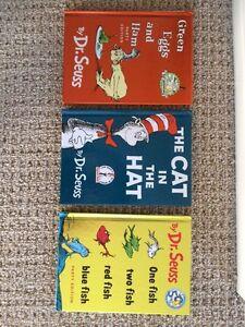 3 dr Seuss books