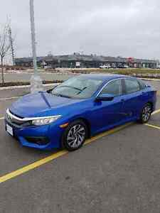 Brand new 2017 Honda Civic EX HS
