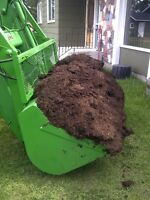 Sheep Manure by the TRACTOR bucket (1+ Yard)