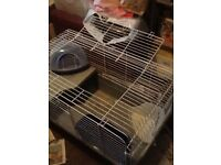 Large Rabbit/Guinea Pig indoor cage with accessories *STILL AVAILABLE*