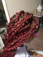 Crochet braids Cornrows Pick and drop Box braids Weave Faux locs