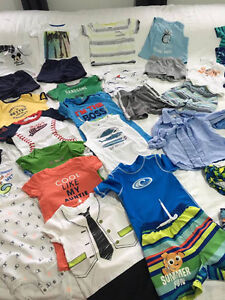37pieces used BOYS SUMMER CLOTHES 18MONTHS EXCELLENT CONDITION Kitchener / Waterloo Kitchener Area image 7